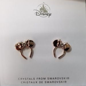 Disney Minnie Mouse Swarovski Crystals earrings